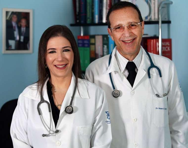 Os pediatras Dr Mauro Toporovski e Dra Sarah Shamay: a nova equipe da clínica
